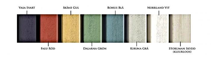 Buitenverf in matte kleuren