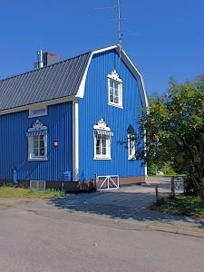 houten huis verven