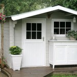 Ademde Houtverf voor tuinhuis