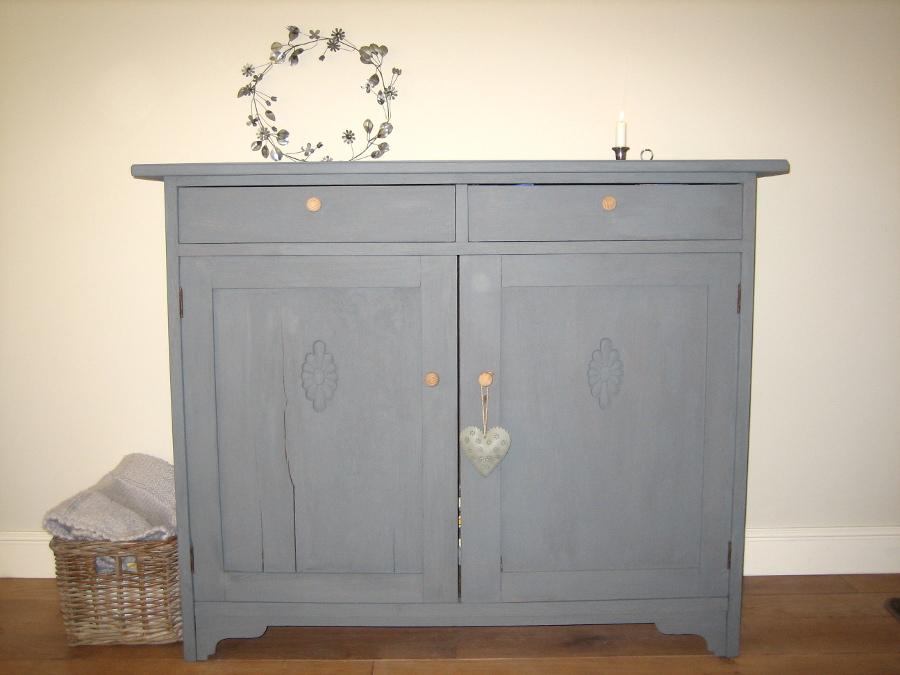 Kast Wit Hout : Kast dressoir profil wit eik hout deba meubelen